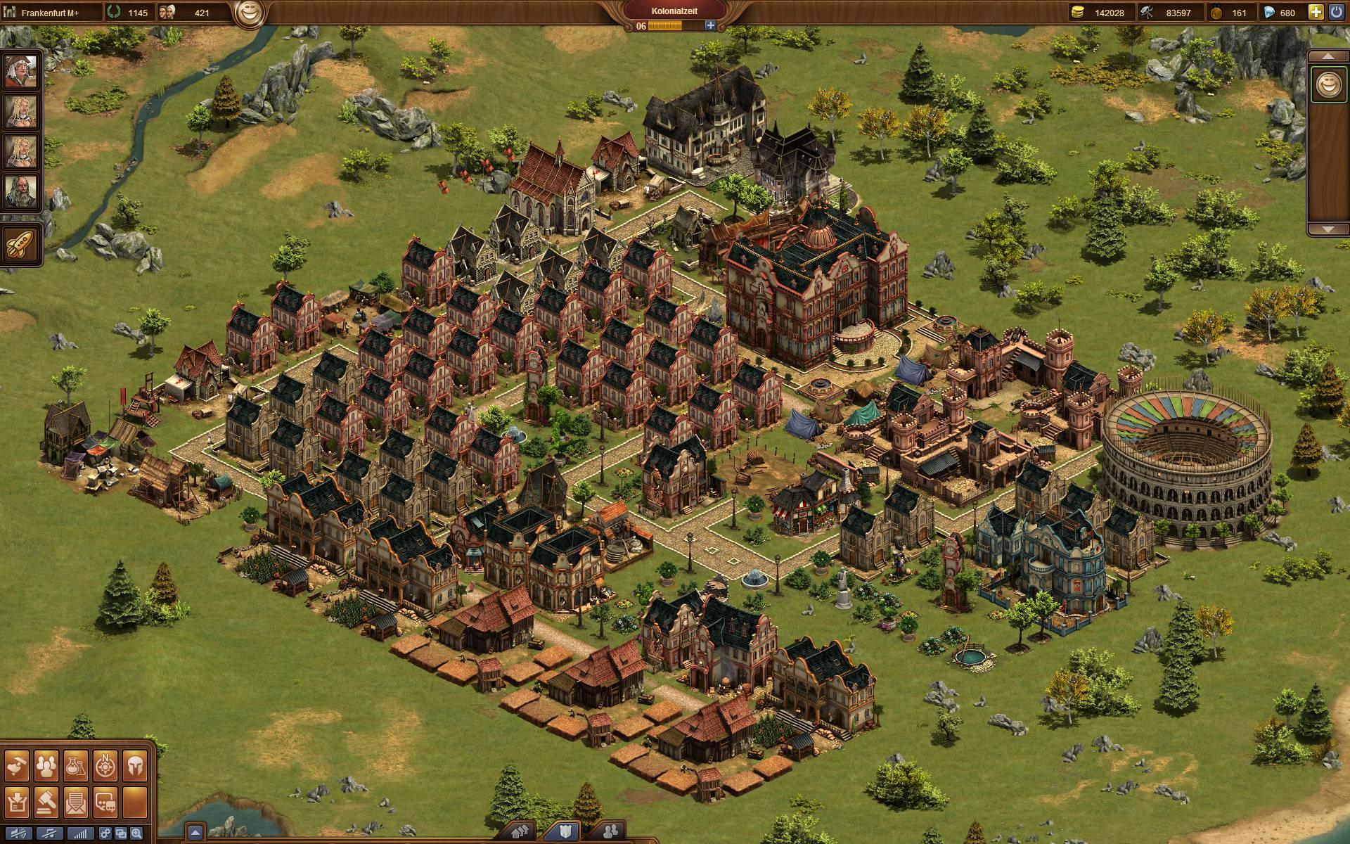 Karte Der Kontinente Foe.Forge Of Empires Aufbaustrategiespiel Für Den Feierabend 2012