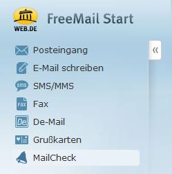 WEB.DE-Mailcheck2